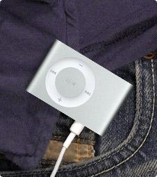 Una foto dell'Apple iPod Shuffle