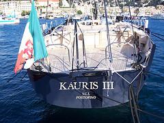 Il Kauris III a Santa Margherita Ligure