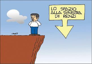 Lo spazio alla sinistra di Renzi